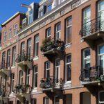 Balconies in Amsterdam
