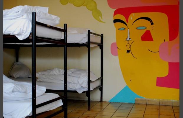 dorm room at bobs youth hostel